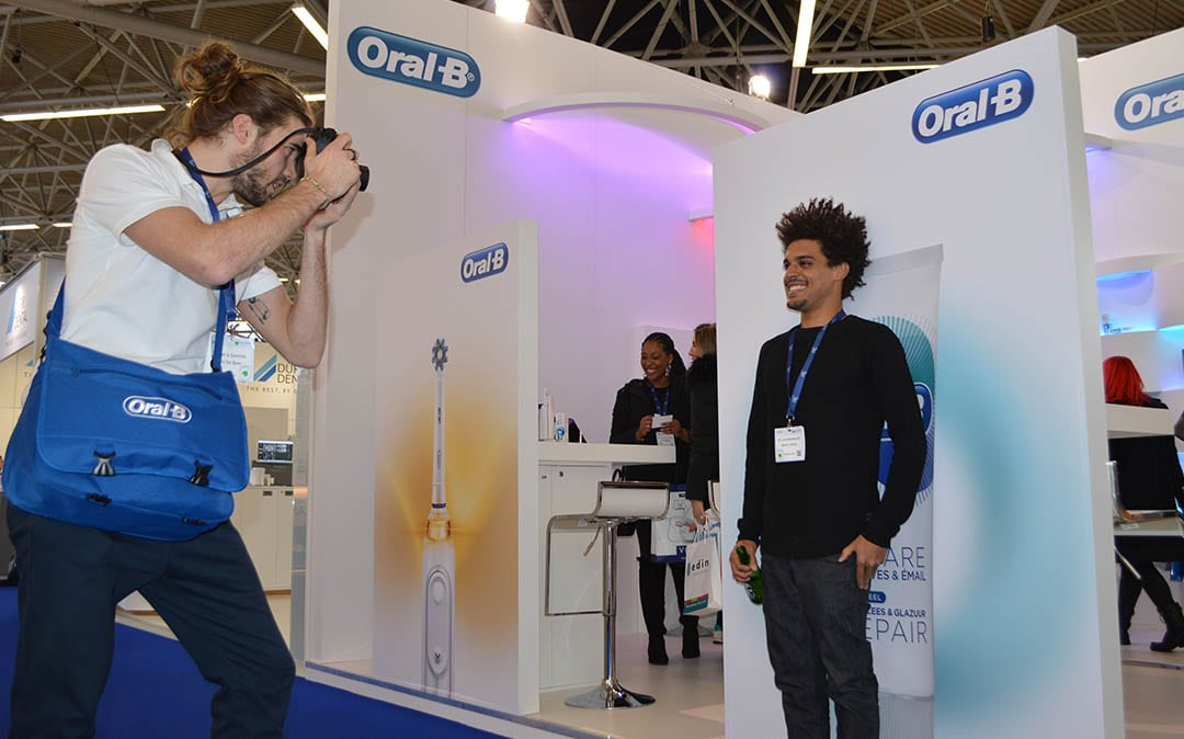 fotoshoot bij oral b - hostessbureau