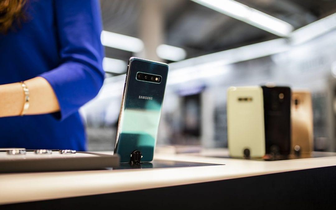 De Galaxy S10 wordt gelanceerd in de Media Markt